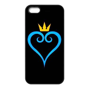 iPhone 5,5S phone cases Black Kingdom Hearts AH451835