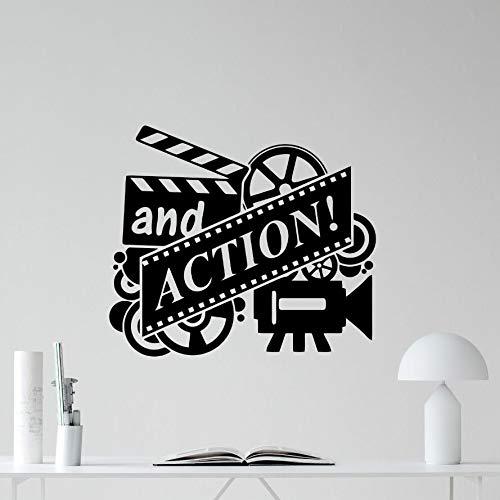 Película de acción Etiqueta de la Pared Carrete de Cine Cine ...