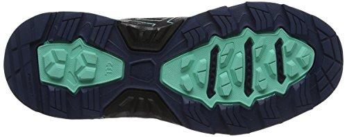 Mujer insignia Gel Gimnasia De 6 Ice Green Para fujitrabuco Asics Zapatillas Blue Azul Black zZSSx