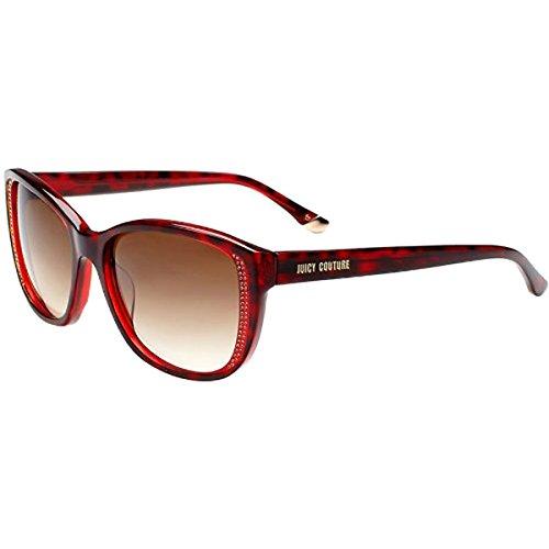 (Juicy Couture Juicy 518/S Sunglasses,Burgundy Tort/Brown)
