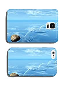 ricochets of a stone on water . cell phone cover case Samsung S5
