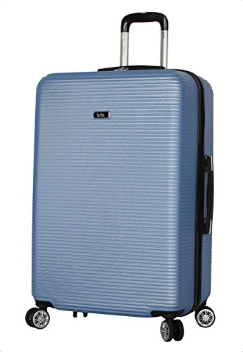 Nicole Miller New York Bernice Collection 28' Hardside Upright Luggage Spinner (Purple)