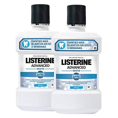 🥇 Listerine – Enjuague Bucal Blanqueador Avanzado