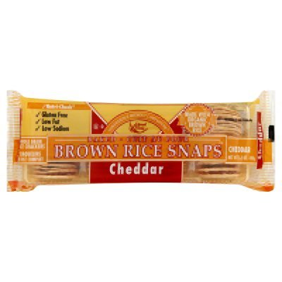 Edward Sons Cheddar Brown Rice Snaps 3.5 Oz (Pack of 12) - Pack Of 12 ()