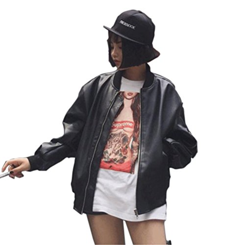 luanshiyinghao Autumn and Winter, New Leather Jacket, Short