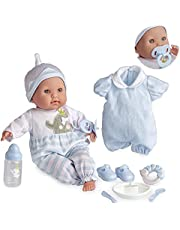 """Berenguer Boutique TWINS- 15"""" Soft Body Baby Dolls"""