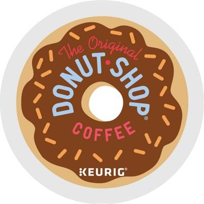 - The Original Donut Shop Regular Keurig Single-Serve K-Cup Pods, Medium Roast Coffee, 24 Count