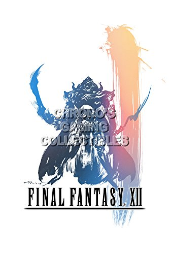 CGC Huge Poster - Final Fantasy XII PS2 - FXII008 )