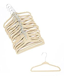 Amazon Com Home It 30 Pack Baby Hangers Ivory Baby