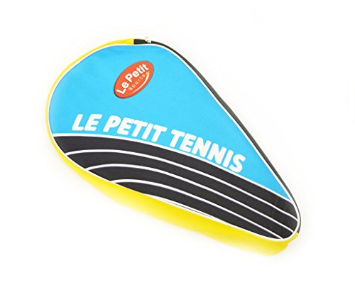 Le Petit Tennis – Tennis Racquet Thermo Cover Bag 3 Pack Bag Blue-yellow (For Ages 2-3-4-5-6)