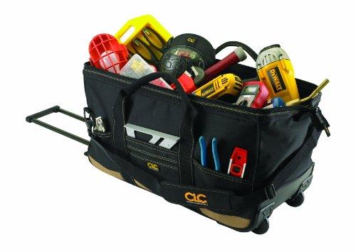 Custom Leathercraft 1167 Roller Tote Bag 30-Pocket