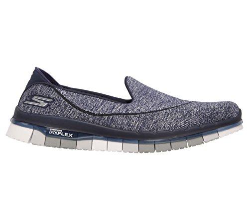 Skechers - Zapatillas de nordic walking de Material Sintético para mujer multicolor Navy-Gray