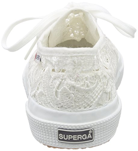 Superga 2750 MACRAMEJ - Zapatilla Baja Unisex Niños Blanco - Weiß (901)