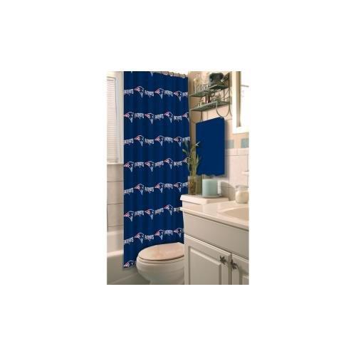 NFL New England Patriots Decorative Bath Collection - Shower Curtain