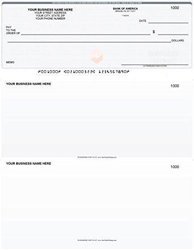 Quickbooks Checks On Top  Linen    Printed Laser Business Computer Voucher Checks   250 Sheets  Gray