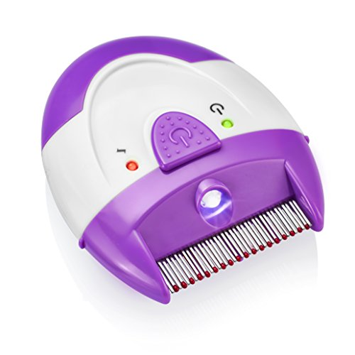 Finito Electronic Lice Comb - Detects And Destroy Lice On Contact Chemical...