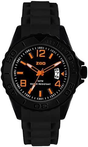 Korean adolescents luminous waterproof sport quartz watch-B