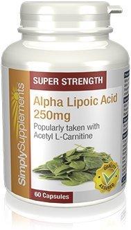 9b1bb27396ad Acide Alpha-Lipoique (AAL) 250mg, 60 Gélules - Support Quotidien pour la