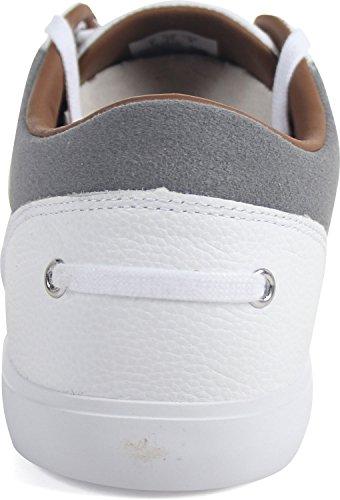 Lacoste Bayliss 118 1 U Sneaker - Blanc Gris - Homme - 10