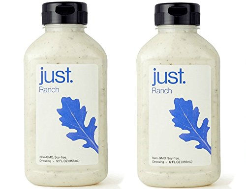 - Just Ranch, Non-GMO Salad Dressing, Dip 12oz x 2 PACK (2 Pack, Ranch)