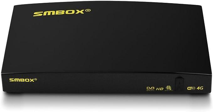 Receptor de satélite – Mpx TV Freesat receptor Full HD libre a todos los canales FTA, PVR Via USB, DVB-S2, construido en WiFi con cable HDMI (requiere ...