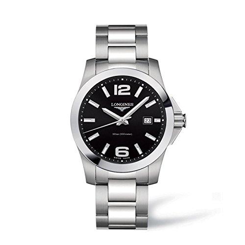 Longines L36764566 - Reloj de automático para Hombre, con Correa de Acero Inoxidable, Color Plateado: Amazon.es: Relojes