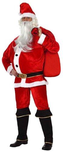 Atosa - Disfraz de Papá Noel para hombre, talla 50-52 (8422259121626)