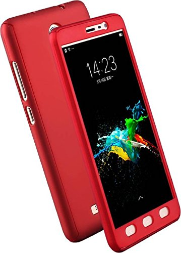 brand new aac52 6b2c9 DeV 360 Degree Ipaky-Full Body Protection Front and Back Case Cover for  Xiaomi Redmi Note 3 (Red)