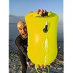 LimitlessXme-Boa-Gonfiabile-per-Nuoto-Giallo-Sacca-stagna-incl-Custodia-per-Il-Cellulare–Sicurezza-Durante-Il-Nuoto-in-acque-libere-e-per-Il-Triathlon-Boa-Galleggiante-Swim-Buoy-Bubble