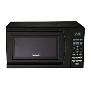 Sunbeam SGS90701B-B 0.7-Cubic Foot Microwave Oven, Black