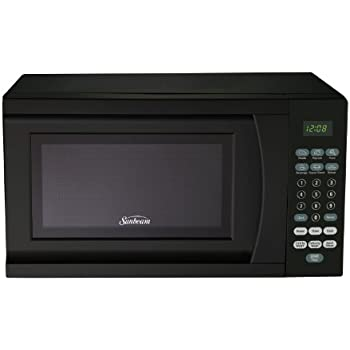 Amazon Com Sunbeam Sgs90701w 0 7 Cubic Feet Microwave