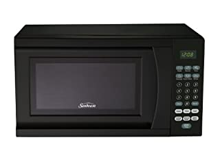 Sunbeam SGS90701B-B 0.7-Cubic Foot Microwave Oven, Black (B00EB8KMP0) | Amazon price tracker / tracking, Amazon price history charts, Amazon price watches, Amazon price drop alerts