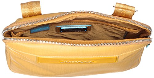 Piquadro Aki bolso bandolera 26,5 cm Amarillo