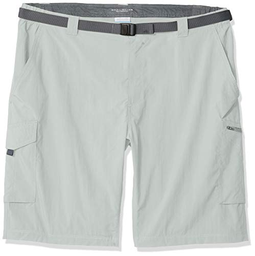 Columbia Men's Silver Ridge Cargo Short,  Cool Grey, 34 x 10