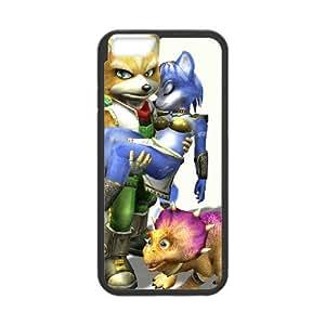 iPhone 6 Plus 5.5 Inch Cell Phone Case Black Super Smash Bros Fox McCloud Dmntg