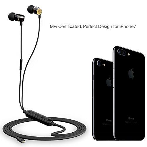 Zinsoko iPhone Earphones Lightning Earbuds MFi Certified wit