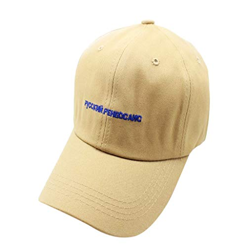 Men Summer Outdoor Sun Cap Cotton Embroidered Letters Baseball Caps Fashion Casual Cap Coffee