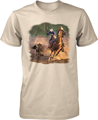 ropin-on-the-ranch-cowboys-cowgirls-mens-t-shirt-nofo-clothing-co-m-putty