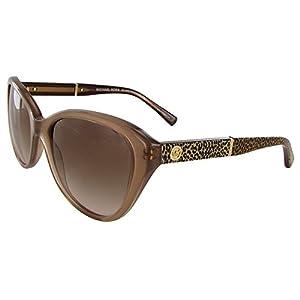 Michael Kors Womens MK2025 Rania I Cat Eye Sunglasses, Milky Taupe