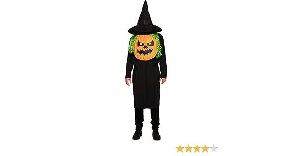 Calabaza con Gigante Cara Disfraz de Halloween Adulto Hombre Mujer ...