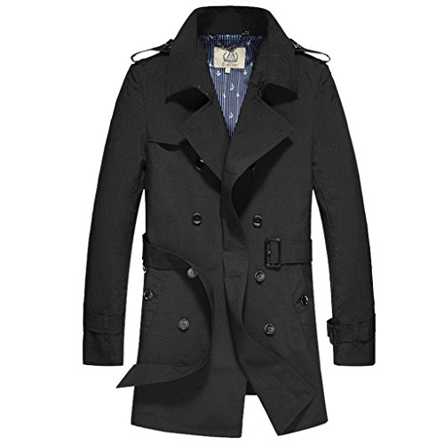 Long Mens Overcoat - 6