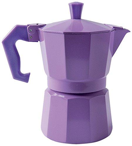 Excelsa Chicco Color Morado cafetera de 3 Tazas