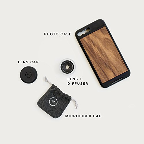 iPhone 8 Plus / iPhone 7 Plus Case with Macro Lens Kit || Moment Black Canvas Photo Case plus Macro Lens || Best iphone macro attachment lens with thin protective case. by Moment (Image #6)