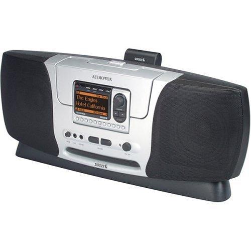 Audiovox SIR-BB3 Sirius Satellite Radio - Boombox Along