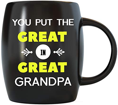 Best Grandfather Gifts You Put The Great in Great Grandpa Father