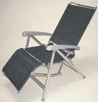 Dukdalf Lounge Chair.Dukdalf Camping Stuhl Liege Lounge Chair Anthrazit