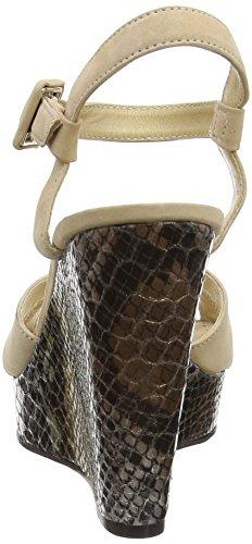 Primafila 96.1.012 - Sandalias Mujer Beige (Deserto/Metal)