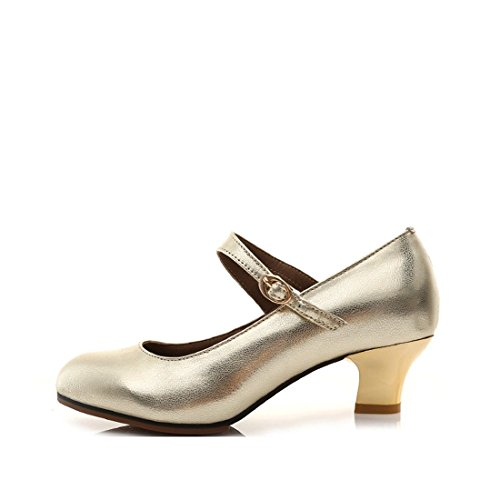 Bottom Golden Dance Latin Shoes Dance WXMDDN Square Dancing Leather Ballroom Women's Adult Soft Dance Leather Shoes Soft Shoes Shoes OUaxYnxwq1