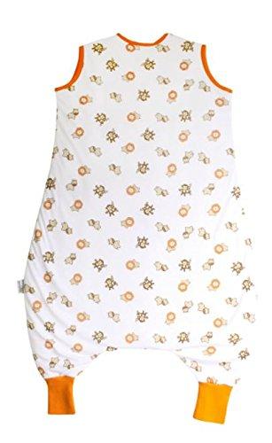Slumbersac Bamboo Muslin Sleeping Bag with Feet approx Cars 0.5 Tog 24-36 Months//100cm