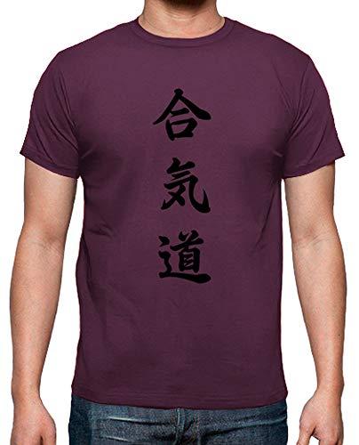 T Bordò Aikido Uomo Tostadora shirt TqUw7xpg